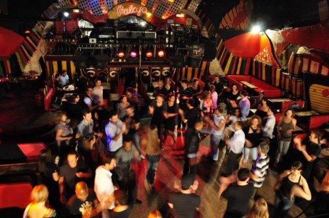 Picture of people dancing salsa in Paris.