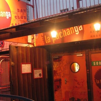 Picture of the entrance of la pachanga at Paris