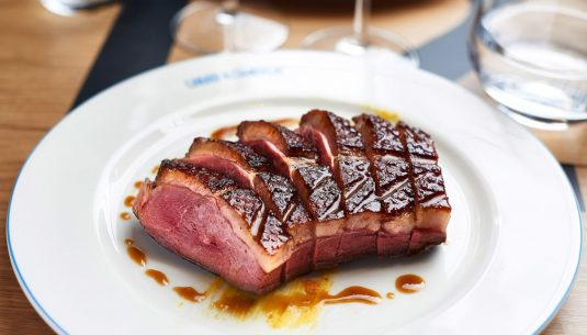 Best duck steak in Paris