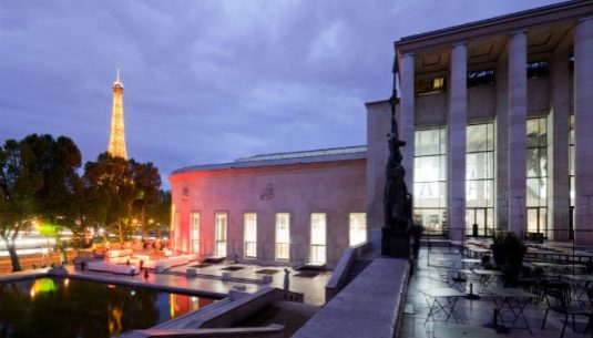 This is a picture of the exterior of the palais de Tokyo, which is a great things to do in Paris.