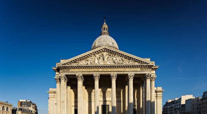 This is a picture of the exterior of the Panthéon at Paris.
