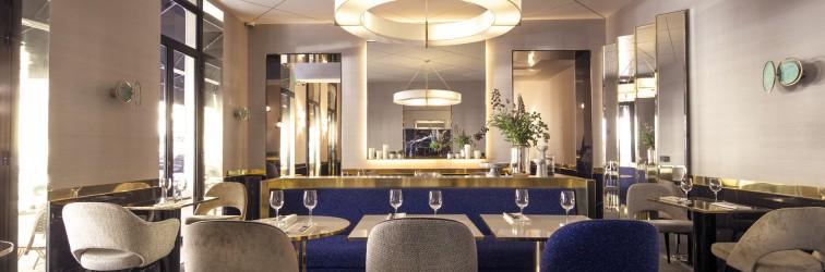 Picture of a restaurant in Paris.