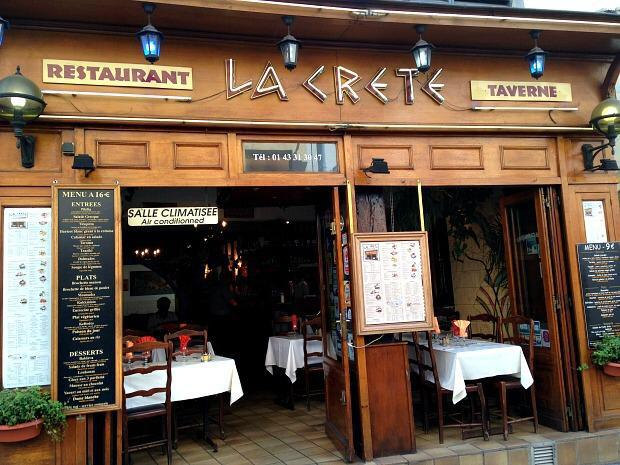 Picture of a nice restaurant in Paris 5.