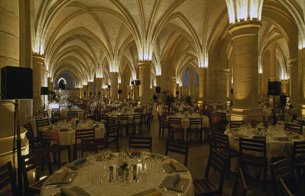 inside the conciergierie in paris