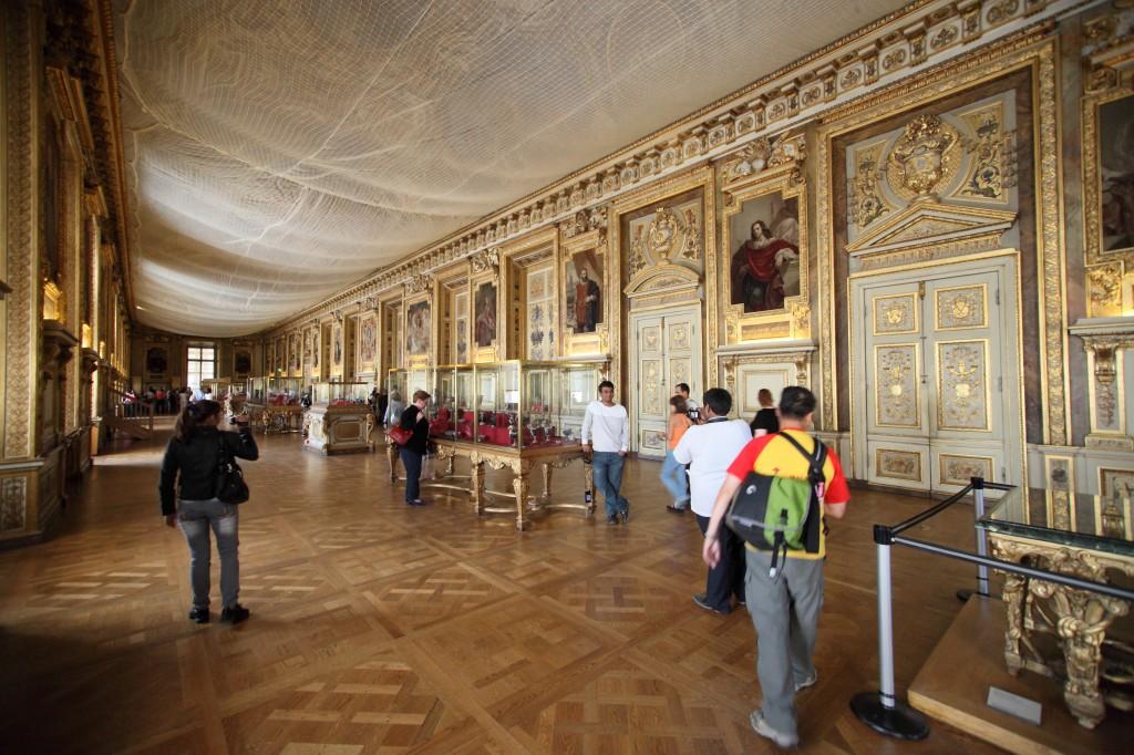 Louvres inside paris