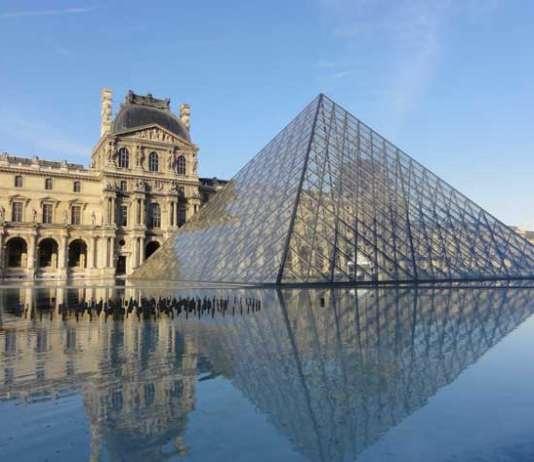 Outside Louvres Paris