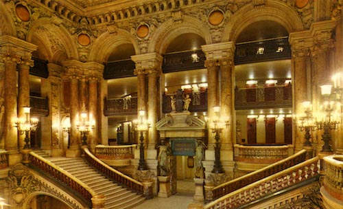 Picture of the opera garner in Paris.