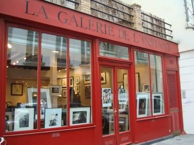 A nice photo gallerie in Paris France.