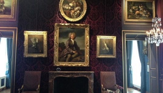 Picture of the interior of a cool museum in Paris.
