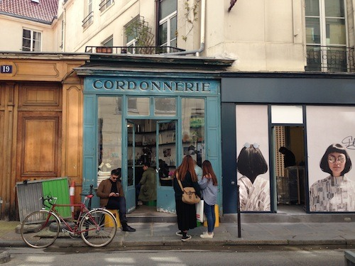 A nice place to go in Paris to have a coffee.