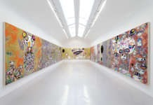 Picture of a nice art gallery in Paris