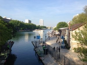 Picture of a nice park in Paris.