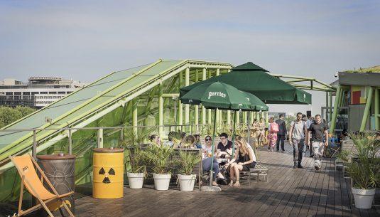 cafe oz rooftop paris